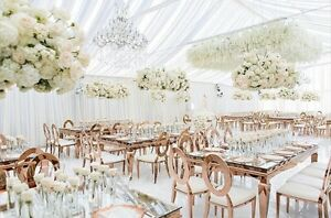 Wedding Ceiling Drapery, Wedding Backdrops, Ceiling Drapes, 10' x 15'