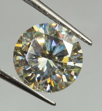 2.53 CT NATURAL MOISSANITE SYNTHETIC DIAMOND SI CLARITY TRANSPARENT GEMSTONE