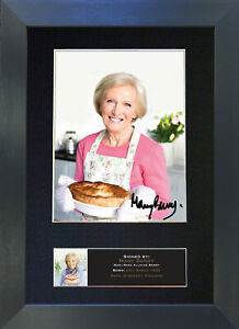 MARY BERRY Signed Mounted Reproduction Autograph Photo Print A4 592
