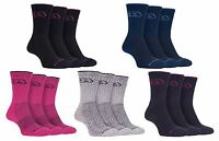Storm Bloc - 3 Pack Ladies Thick Cushioned Breathable Cotton Summer Hiking Socks