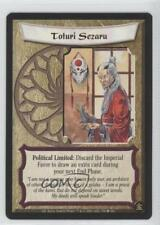 2001 Legend of the Five Rings CCG - Gold Edition #539 Toturi Sezaru Card 0b5