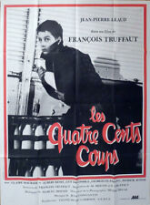 400 COUPS - 400 BLOWS - TRUFFAUT / NEW WAVE - REISSUE LARGE FRENCH MOVIE POSTER