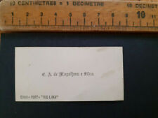 More details for british india raj calling card business e.a. de magalhaes e silva