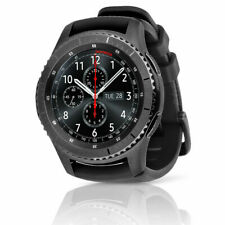 Samsung SM-R765V Gear S3 Frontier LTE Smartwatch - Black..and 4 added bands