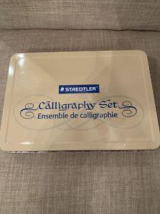 STAEDTLER CALLIGRAPHY PEN SET ASSORTED INTERCHANGEABLE POINTS