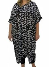 Rayon Animal Print Machine Washable Sundresses for Women