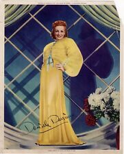 "Danielle Darrieux in ""The Rage Of Paris"", Compliments of Auto-Lite Spark Plugs"