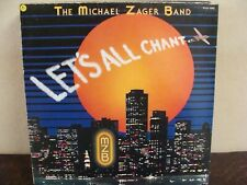 LP - The Michael Zager Band – Let's All Chant - EX/EX -Private Stock PVLP 1042