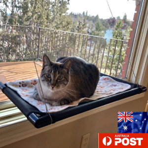 Cat Bed Basking Window Hammock Perch Cushion Bed Hanging Seat Pet Up To 23 Kg