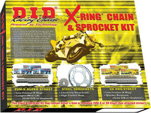 D.I.D - DKY-011 - X-Ring Chain and Sprocket Kit