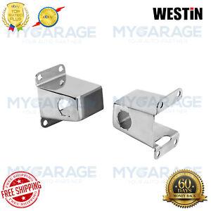 Westin For 14-18 Polished FrontRelocators Silverado1500,2500HD,3500HD - 45-0000S