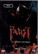 FAUST la vendetta è nel sangue- DVD NUOVO E SIGILLATO, PRIMA STAMPA, NO EDICOLA