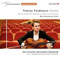 Tobias Feldmann - Tobias Feldmann: Violin Sonatas [Tobias Feldmann, [CD]