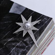Spilla Da Balia Strass Pin Austria Faux Diamante Gioielli Per Donne Uomo