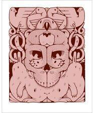 Jeremy Fish Wild Kingdom Showcase Rotofugi 2012 S/N ###/100