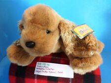 First and Main Menagerie Collection Ginger Cocker Spaniel Plush (310-2838)
