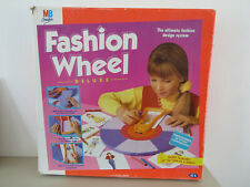 Fashion Wheel Deluxe MB Creative 1995 Vintage Retro Toy BOXED WITH INSTRUCTIONS