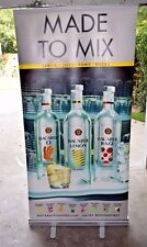 Bacardi Limon - Razz - POS Point of Sale Pop / Roll Up Retractable Banner / Sign