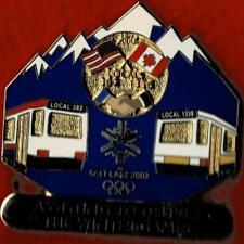Rare Numbered 2002 Salt Lake City ATU Olympic Games Mark Pin