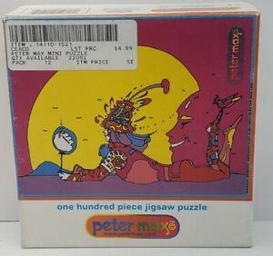 "Vintage Peter Max ""Magical Moment""100 Piece Pc Jigsaw Puzzle Pop Art Ceaco 1999"