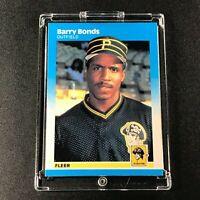 BARRY BONDS 1987 FLEER #604 ROOKIE CARD RC PITTSBURGH PIRATES MLB