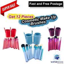 12Pc Cosmetic Make Up Brushes Set Face Powder Blushers Foundation Brusse Contour