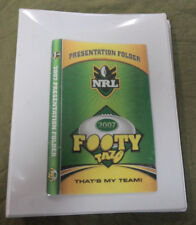 #ZZ10.  SET OF  2007 CLASSIC &  GOLD FOOTY  NRL  RUGBY LEAGUE TAZOS