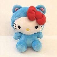 "Hello Kitty Blue Cat Costume Medium 10"" Plush Brand New"