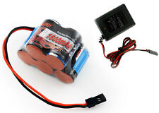 Tenergy 5 Cell 6V 1600mAh NiMH Hump Receiver Battery Pack w Charger T-Maxx 3.3