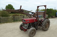 MASSEY FERGUSON 135 LOADER TRACTOR 2WD BUCKET PICK UP HITCH ONE OWNER RUNS WELL