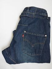 LEVI'S TYPE 2 TWISTED ENGINEERED JEANS CINCH BACK W30 L30 MID BLUE LEVH319 #