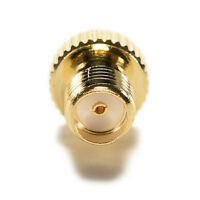 Adapter TS9 male plug to SMA female jack RF connector straight gold plating G*HW