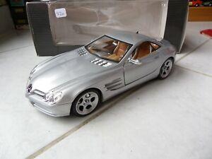 Mercedes Benz Vision SLR Grey Silver 1/18 Maisto IN Box