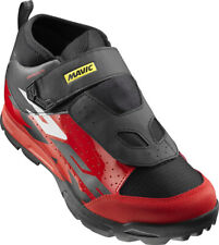 Mavic Deemax Elite MTB Shoe EU 39 2/3 US Men's 9 Black/Fiery Red/Black New