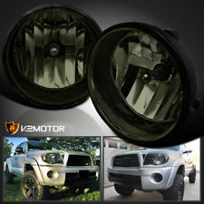 For 2005-2011 Toyota Tacoma 04-06 Solara Smoke Bumper Fog Light+Switch Pair