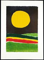 """""""Halcyon"""", 1969. Grosser Siebdruck Kenneth KEMBLE (1923-1998 ARG) handsigniert"""