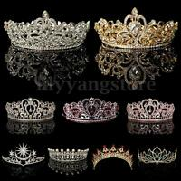 Crystal Rhinestone Wedding Bridal Prom Party Crown Tiara Headband Hair Jewelry