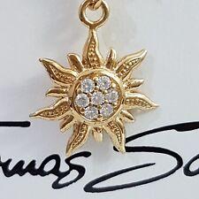 Nur 3 Tage❤ Thomas Sabo Sonnen Charm Club Anhänger 925 Silver 750 Gold Sun NEU