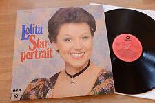 Lolita Star Portrait Lila Marlen RCA LP sonocord 27131-2