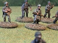 25mm plastic WW2 German Panzer Grenadier Zug & Support Weapons Teams