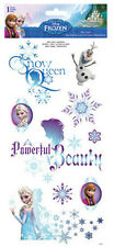 DISNEY FROZEN wall stickers 9 decals Anna Elsa Olaf decor snowflakes Snow Queen