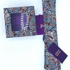 Gianni Feraud with Liberty of London Premium Collection Paisley Tie.  NWT