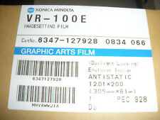 VR100E Genuine Konica Minolta VR-100E Art Graphic Image Setting Film