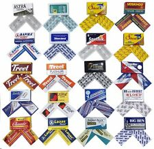 Double Edge Razor Blade Sample Pack (2x each for a total of 40 blades)