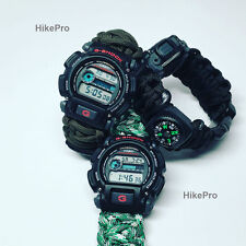 550 Paracord custom WatchBand Replacement FOR all Casio gshock invicta Seiko etc