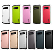 Spigen For Samsung Galaxy S10 5G [Slim Armor CS] Case Wallet Card Slot Cover TPU