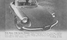 7 Late 1960s Sports Car Arcade Cards