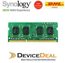 Synology 4GB DDR3-1600 unbuffered SODIMM 204pin CL11 1.5V