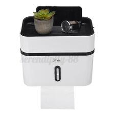 New ListingDouble Layer Toilet Tissue Box Paper Napkin Holder Case Punch-Free Large Us