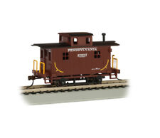 Pennsylvania Bobber Caboose Ho-Scale By Bachmann Trains Silver Series! Save $